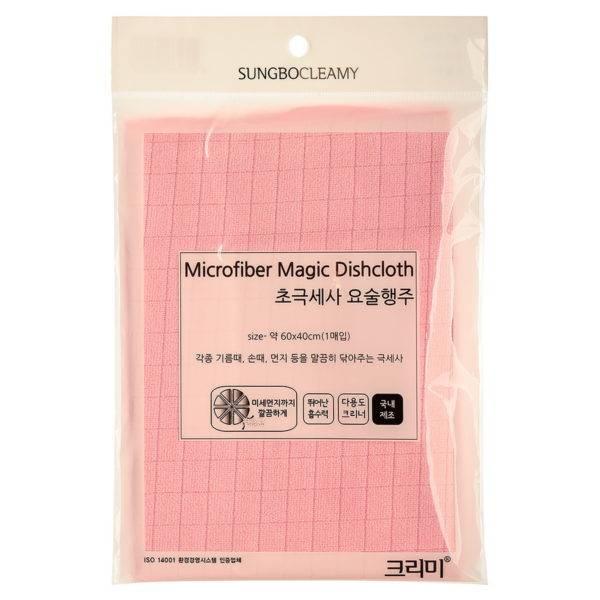 Кухонное полотенце ( 60 х 40 ) MICROFIBER MAGIC DISHCLOTH 1PC  1шт