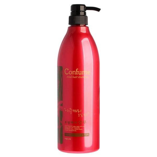 Confume Шампунь для волос c касторовым маслом Confume Total Hair Shampoo 950мл