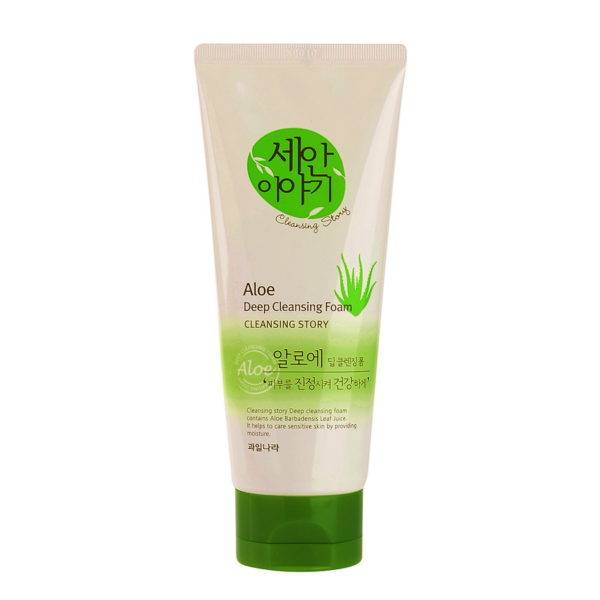 Cleansing Story Пенка для умывания Cleansing Story Foam Cleansing (Aloe)120g 120гр