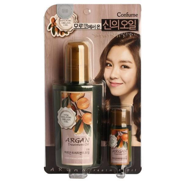 Confume Argan Масло аргановое для волос Confume Argan Treatment Oil 120мл+25мл