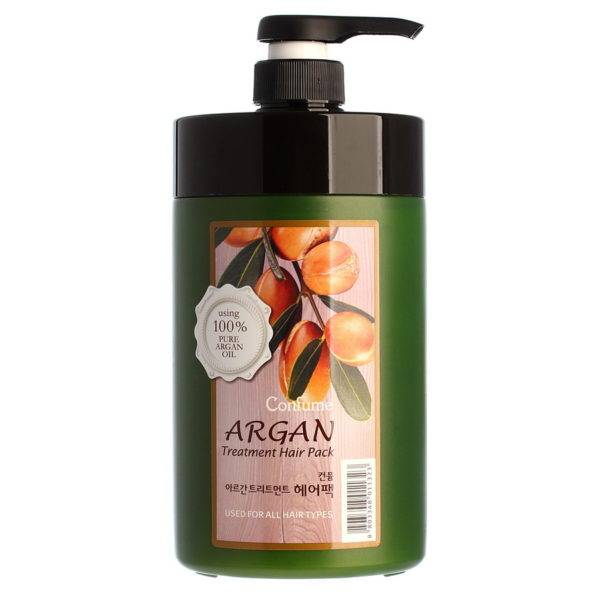 Confume Argan Маска для волос с маслом арганы Confume Argan Treatment Hair Pack 1000г