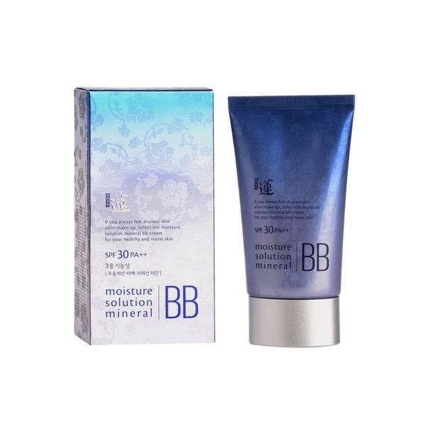 Lotus ББ крем минеральный Lotus Moisture  Solution Mineral BB Cream 50мл