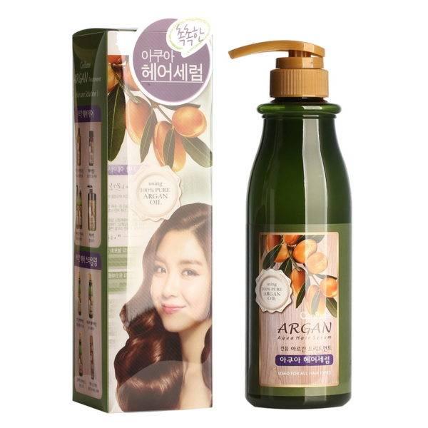 Confume Argan Сыворотка для волос с аргановым маслом Confume Argan Treatment  Aqua Hair Serum 500мл