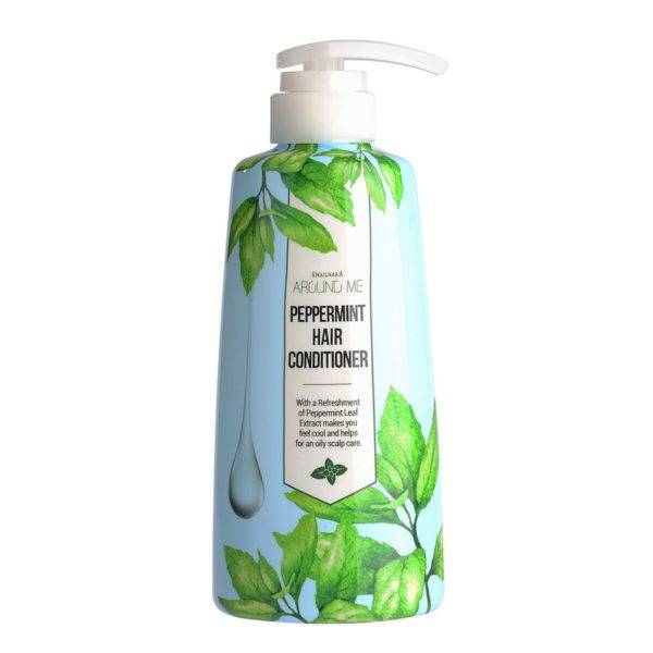 Around Me P Кондиционер для волос Around me peppermint Hair Conditioner 500мл