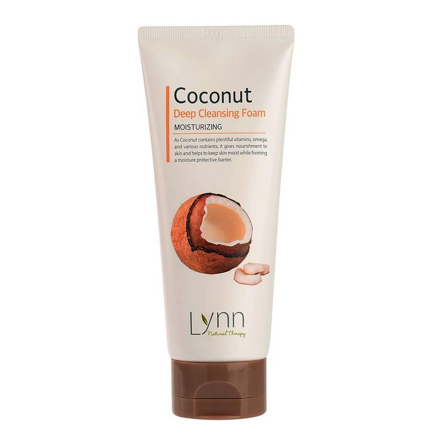 Natural Therapy Пенка очищающая кокосовая Natural Therapy Lynn  Coconut Deep Cleansing Foam 120g