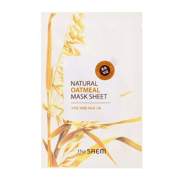 Маска тканевая с экстрактом овсянки Natural Oatmeal Mask Sheet 21мл