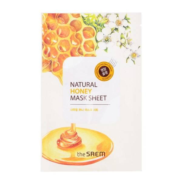 Маска тканевая с экстрактом меда Natural Honey Mask Sheet 21мл