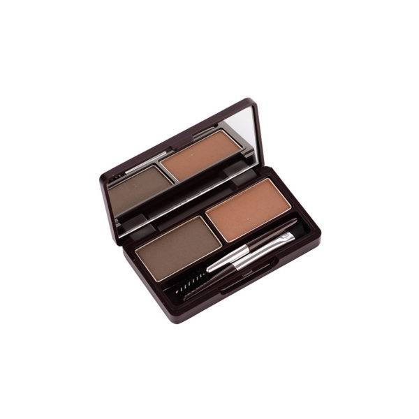 EYE Пудра для бровей 02 Eco Soul Eyebrow Kit 02 Gray Brown 2*2.5гр