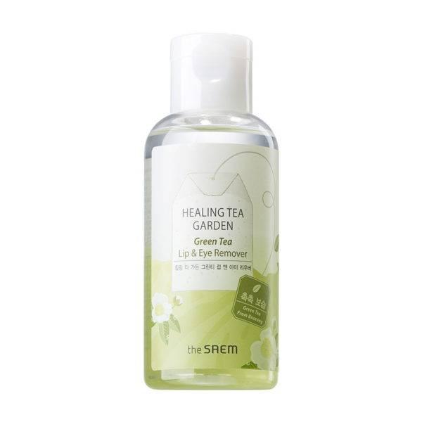 Garden Средство для снятия макияжа с глаз и губ Healing Tea Garden Green Tea Lip & Eye Remover 150мл