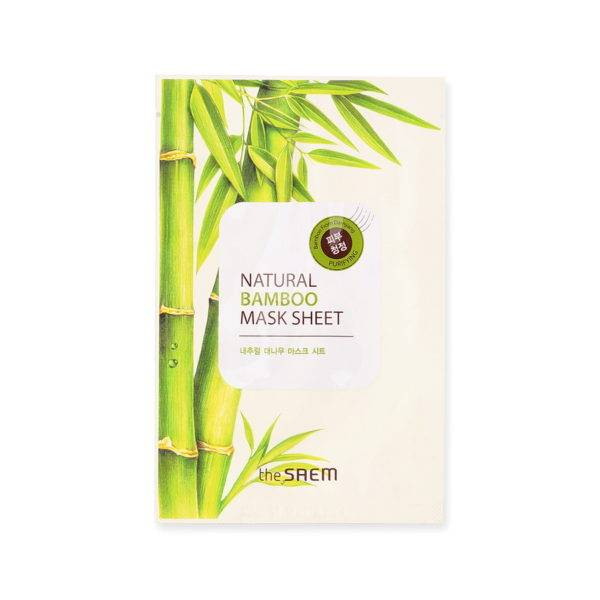 Маска тканевая с экстрактом бамбука (NEW)Natural Bamboo Mask Sheet 21мл
