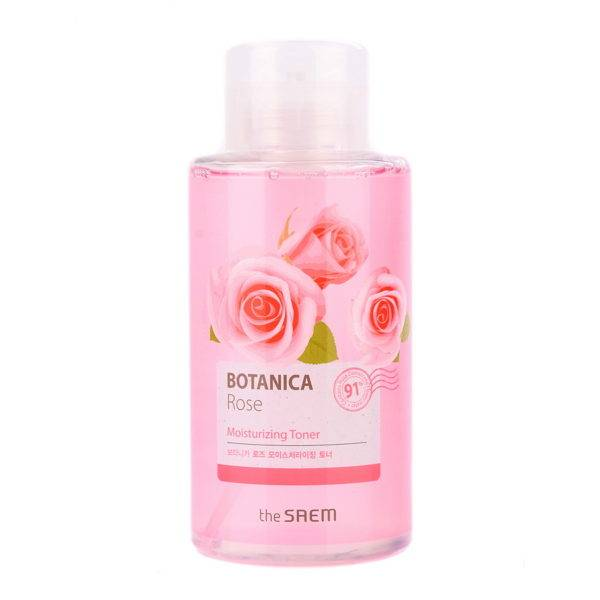 Botanica Тонер для лица Botanica Rose Moisturizing Toner_400ml 400мл