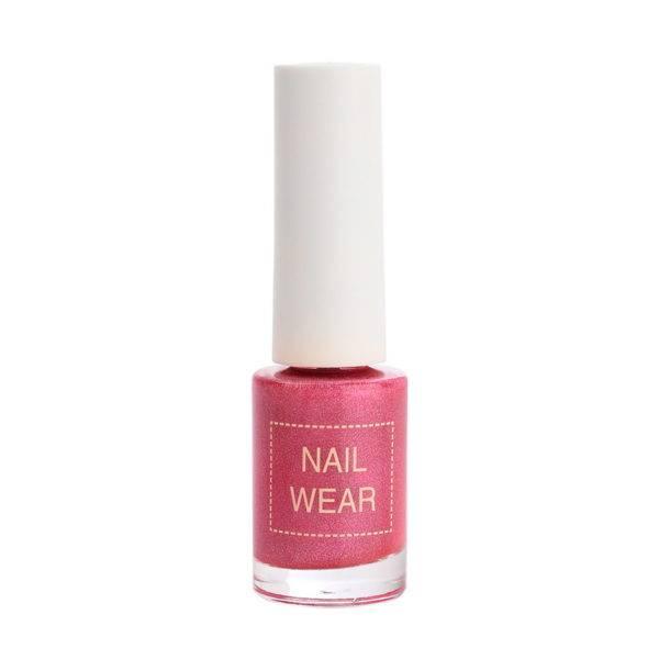 Nail Лак для ногтей The Saem Nail Wear #60.Prism red 7мл