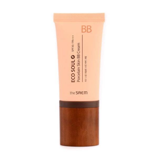 ECO SOUL ББ Крем  Eco Soul Porcelain Skin BB Cream 01 Light Beige 45мл