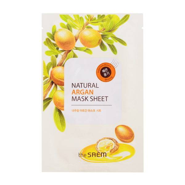 Маска тканевая с экстрактом арганы Natural Argan Mask Sheet 21мл