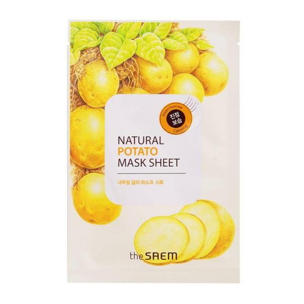 Маска тканевая с экстрактом картофеля Natural Potato Mask Sheet 21мл