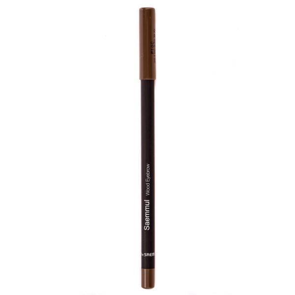 EYE Карандаш для бровей 03 Saemmul wood eyebrow 03.black brown