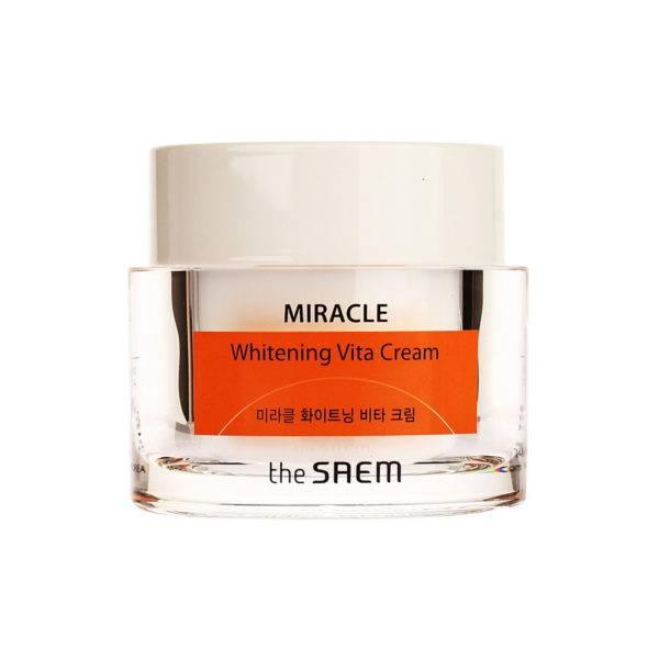 Miracle Крем ночной осветляющий MIRACLE Whitening Vita Cream 50мл