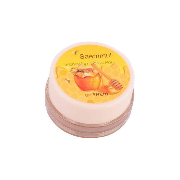 Honey Скраб для губ медовый Saemmul Honey Lip Scrub Pot 7гр