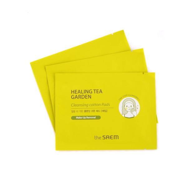 Garden Диски хлопковые влажные очищающие Healing Tea Garden Cleansing Cotton Pads 30шт (9мл)