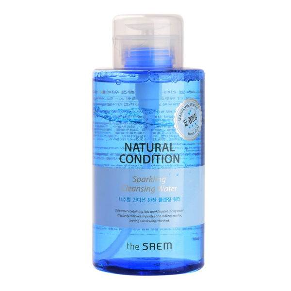 Natural Condition Вода мицеллярная Natural Condition Sparkling Cleansing Water 500мл