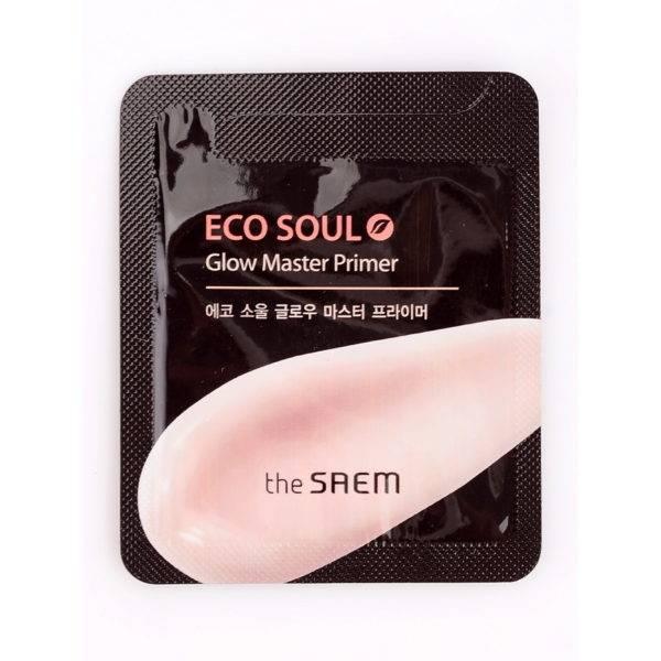 ECO SOUL Праймер для яркости кожи пробник Eco Soul Glow Master Primer - Sample 1мл