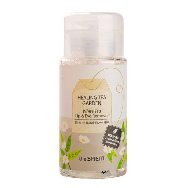 Garden Жидкость для снятия макияжа с глаз и губ Healing Tea Garden White Tea Lip & eyes Remover 150мл
