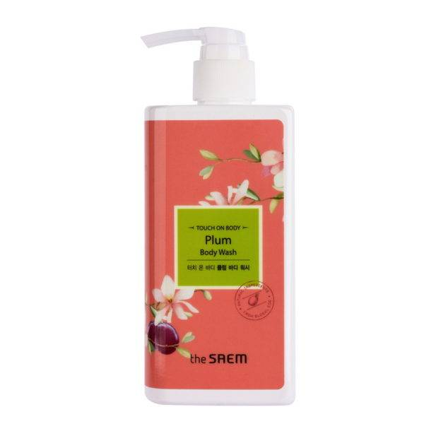 TOUCH ON BODY Гель для душа слива TOUCH ON BODY Plum Body Wash 300мл
