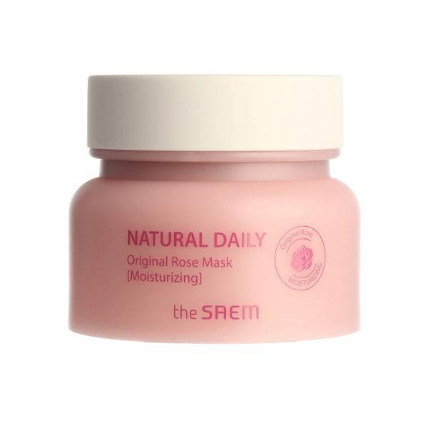 DAILY Маска для лица с лепестками роз Natural Daily Original Rose Mask 100г