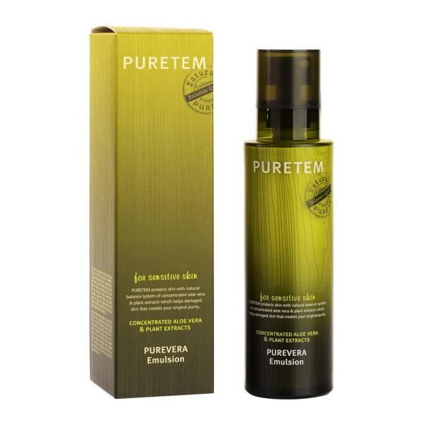 Puretem Эмульсия для лица с экстрактом алоэ вера Puretem Purevera Emulsion 130мл