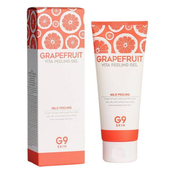 Grapefruit Гель-скатка для лица G9SKIN Grapefruit Vita Peeling Gel 150ml