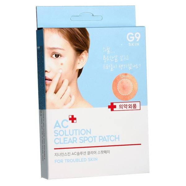 AC Solution Патчи акне набор AC solution ACNE clear spot patch 60 шт