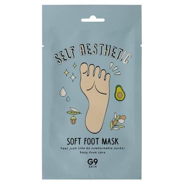 Self Aesthetic Маска для ног G9 Self Aesthetic Soft Foot Mask 12мл