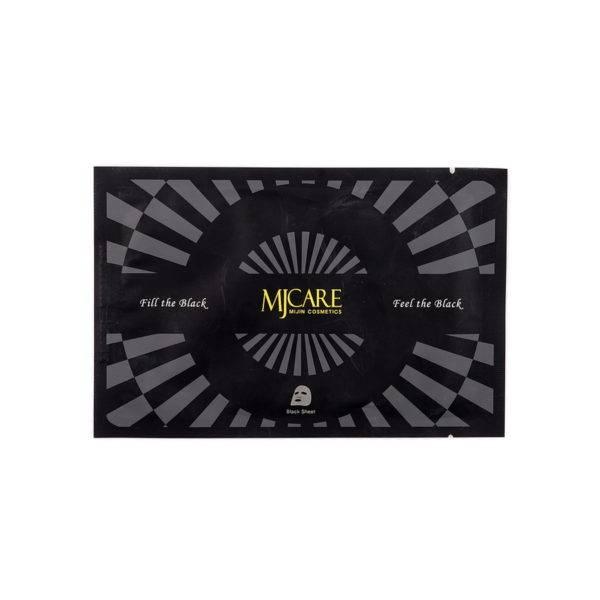 Маска для лица с древесным углем MJ Premium Charcoal black mask  25гр