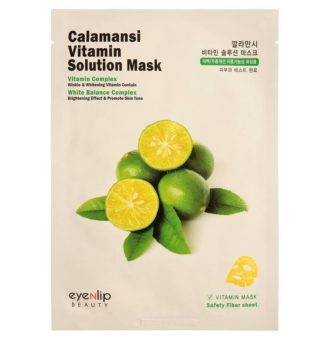 CALAMANSI Маска для лица тканевая витаминная CALAMANSI VITAMIN SOLUTION MASK 25мл