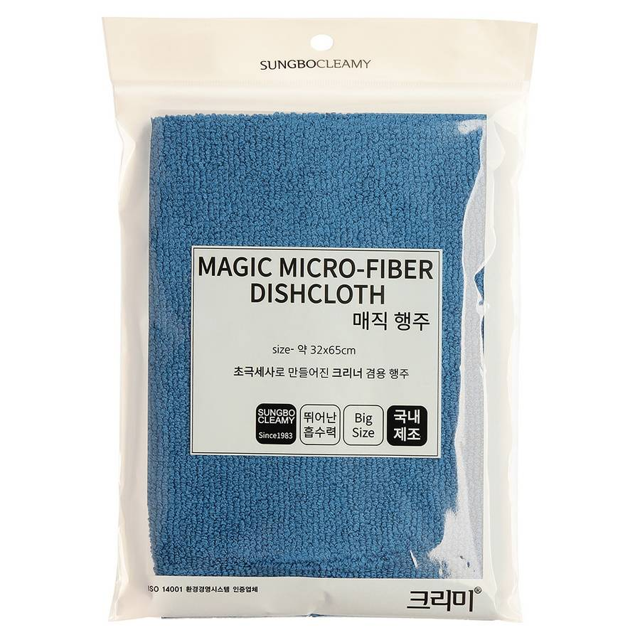 SB Кухонное полотенце ( 32 х 65 ) MAGIC MICRO-FIBER DISHCLOTH 1PC 1шт