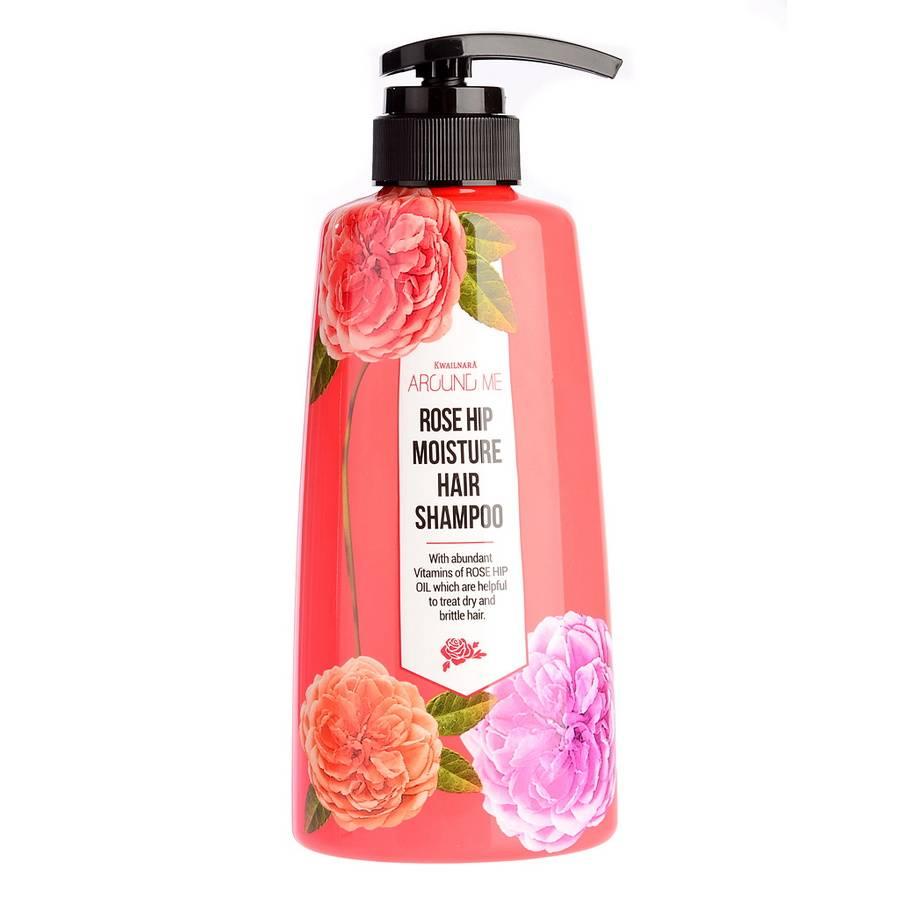 ВЛК Rose Шампунь для волос Around me Rose Hip Hair Shampoo 500мл