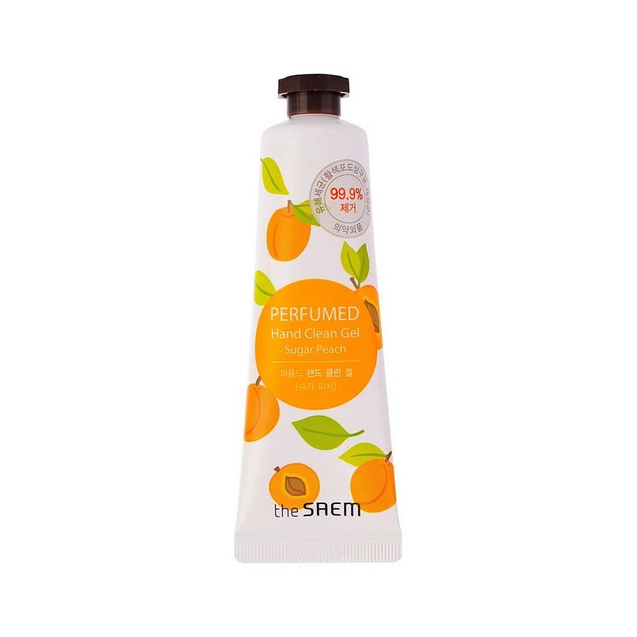 СМ Hand P Гель для рук с антибактерильным эффектом Perfumed Hand Clean Gel [Sugar Peach] 30мл