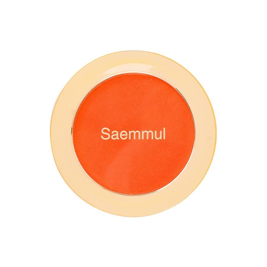 СМ Румяна компактные Saemmul Single Blusher OR01 Mandarine Kiss 5гр