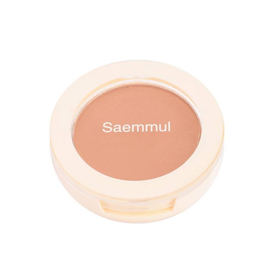 СМ Румяна компактные Saemmul Single Blusher BR01 Call Me Brown 5гр