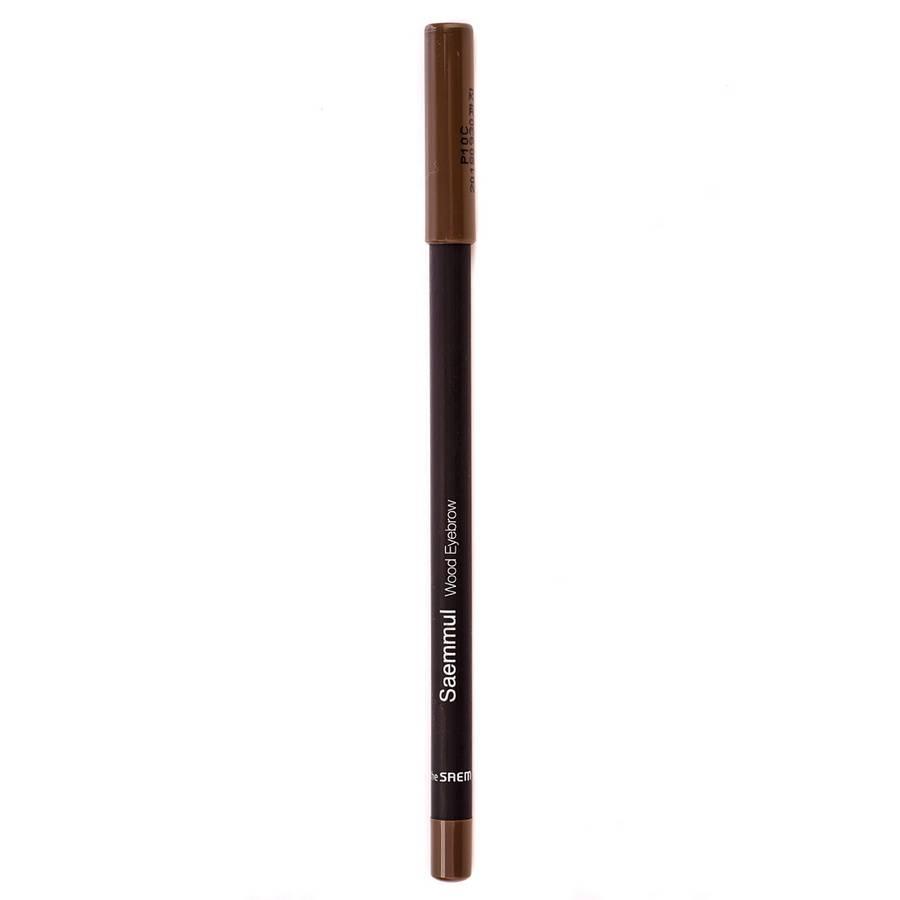 СМ EYE Карандаш для бровей  03 Saemmul wood eyebrow 03.black brown